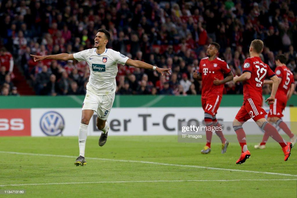 Bayern Muenchen v 1. FC Heidenheim - DFB Cup : News Photo