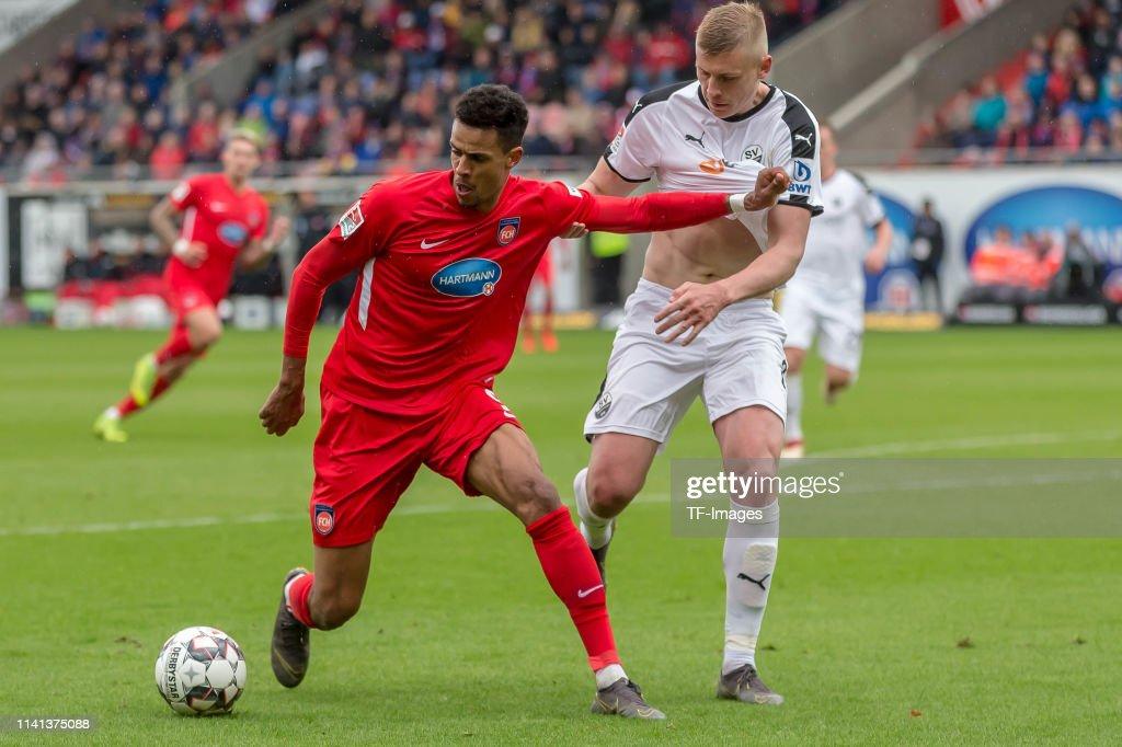 1. FC Heidenheim 1846 v SV Sandhausen - Second Bundesliga : News Photo