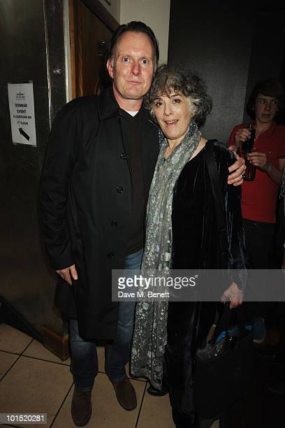 Robert Glenister and Eleanor Bron attend the press night for 'The Late Middle Classes' at Cafe Des Amis on June 1 2010 in London England