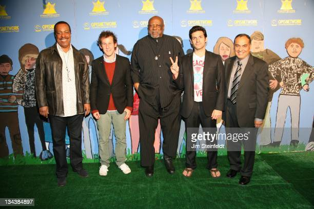 Robert Gossett Ben Lee Louis Gossett Jr Jay Ponti and Don Miquel Ruiz pose for a portrait at PeaceLink Live a concert event that inspires and...