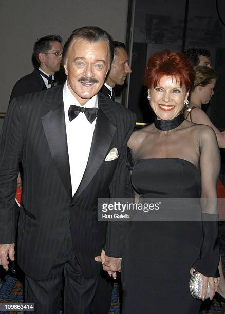 Robert Goulet and Vera Goulet during 59th Annual Tony Awards After Party at Marriott Marquis in New York City New York United States