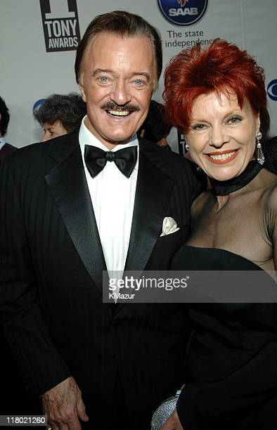 Robert Goulet and Vera Goulet during 59th Annual Tony Awards Red Carpet at Radio City Music Hall in New York City New York United States