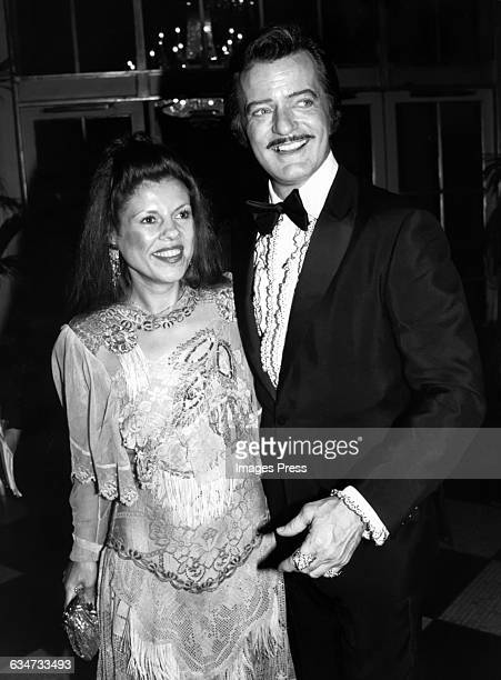 Robert Goulet and wife Vera Novak circa 1982 in New York City