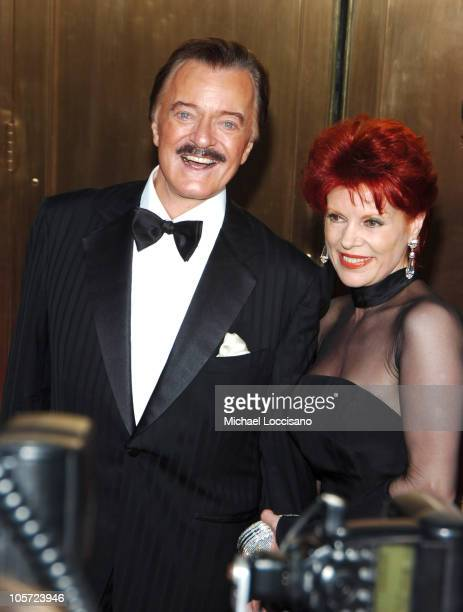 Robert Goulet and wife Vera Novak during 59th Annual Tony Awards Arrivals at Radio City Music Hall in New York City New York United States