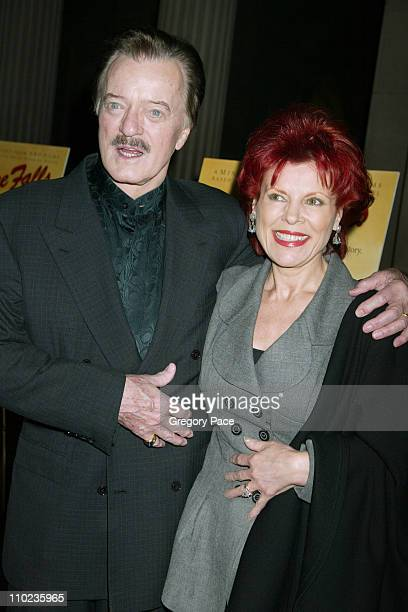 Robert Goulet and wife Vera Novak during HBO Films Empire Falls New York City Premiere Arrivals at The Metropolitan Museum of Art in New York City...