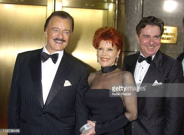 Robert Goulet wife Vera Novak and Gary Beach nominee Best Performance by a Leading Actor in a Play for La Cage aux Folles