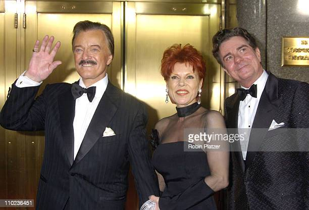 Robert Goulet wife Vera Novak and Gary Beach nominee Best Performance by a Leading Actor in a Musical for La Cage aux Folles