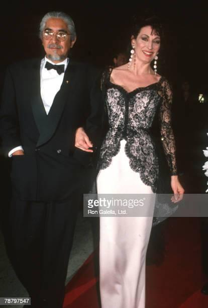 Robert Graham and Anjelica Huston