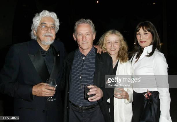 Robert Graham , Ed Ruscha , Dana ruscha and Anjelica Huston