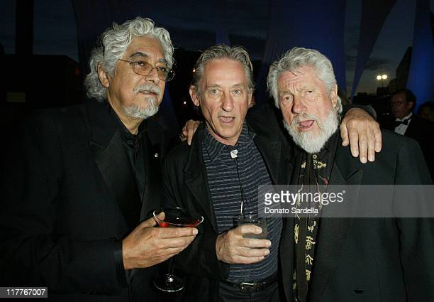 Robert Grahm , Ed Ruscha and Ed Moses during MOCA Celebrates 25 Years of Ground Breaking Art Achievements - Inside at MOCA at The Geffen Contemporary...