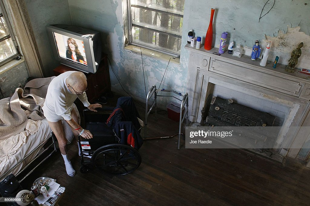 State Budget Cuts Threaten To End Assistance For Homecare To Elderly : News Photo