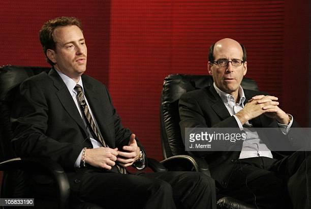 Robert Greenblatt and Matthew C Blank during Showtime Networks Presentation to The Television Critics Association at The Hollywood Renaisssance Hotel...