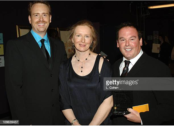 Robert Greenblatt Frances Conroy and David Janollari