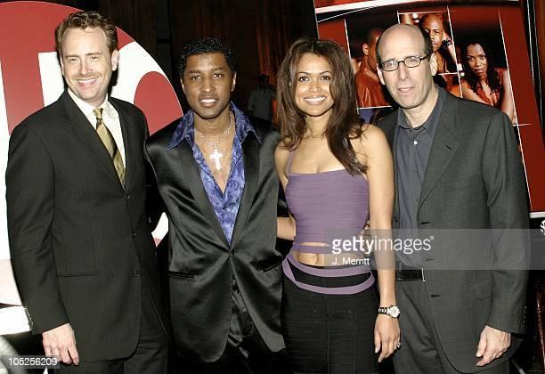 Robert Greenblatt Kenny Babyface Edmonds Tracey Edmonds and Matt Blank