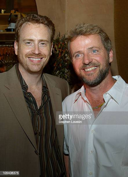 Robert Greenblatt president of Showtime Entertainment and Aidan Quinn