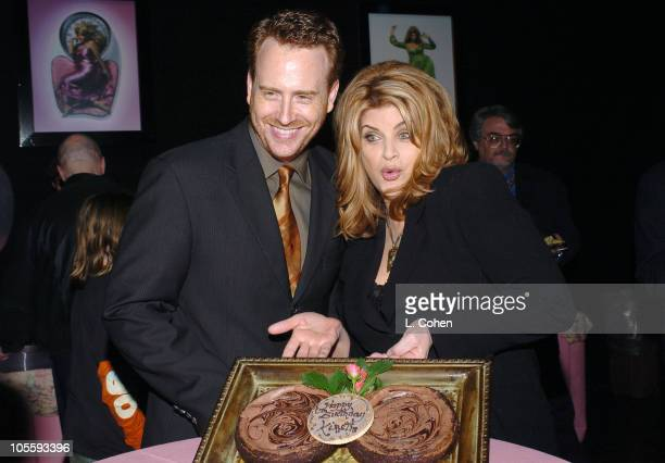Robert Greenblatt president of Showtime Entertainment with Kirstie Alley of Fat Actress