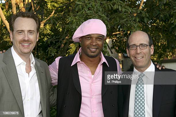 Robert Greenblatt Showtime President of Entertainment Damon Wayans and Matthew Blank Chairman and CEO of Showtime