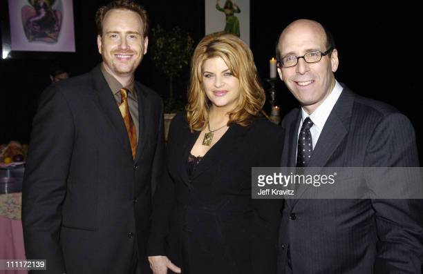 Robert Greenblatt Showtime President of Entertainment Kirstie Alley of Fat Actress and Matt Blank CEO/chairman of Showtime