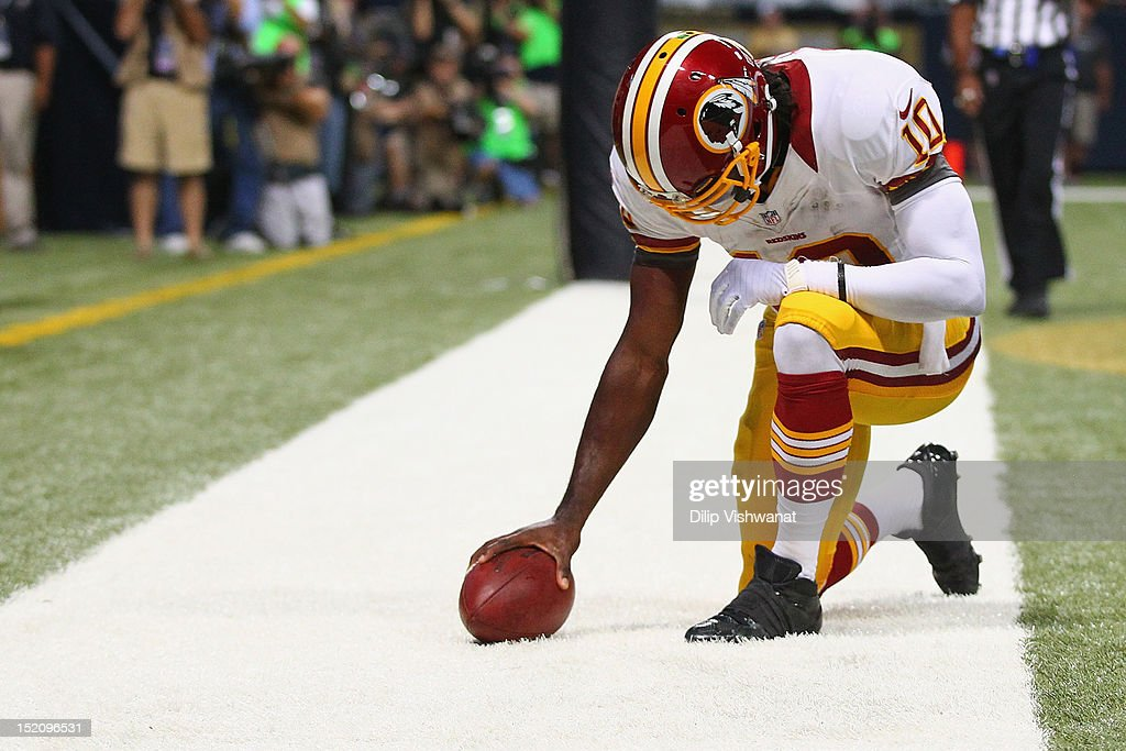Washington Redskins v St. Louis Rams : News Photo