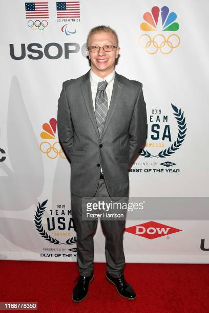 Robert Griswold attends the 2019 Team USA Awards at Universal Studios Hollywood on November 19 2019 in Universal City California