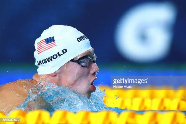 Robert Griswold of United States competes in Men's 200 m Individual Medley SM8 during day 6 of the Para Swimming World Championship Mexico City 2017...