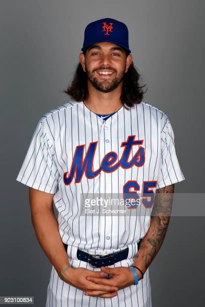 Robert Gsellman of the New York Mets poses during Photo Day on Wednesday February 21 2017 at Tradition Field in Port St Lucie Florida