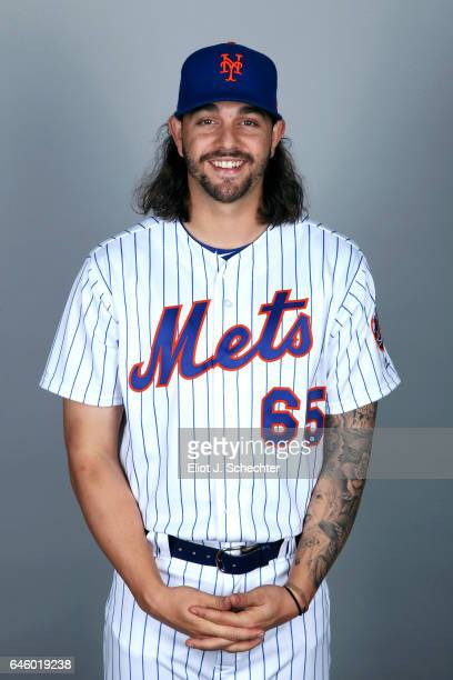 Robert Gsellman of the New York Mets poses during Photo Day on Wednesday February 22 2017 at Tradition Field in Port St Lucie Florida