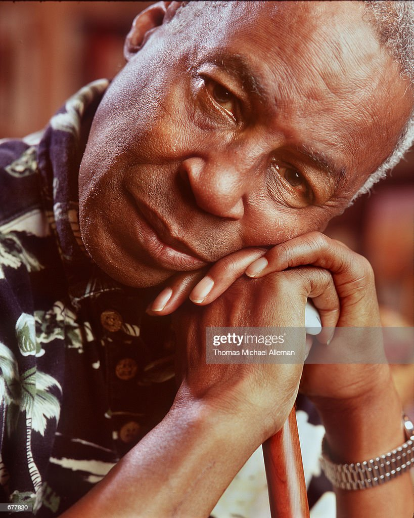 Robert Guillaume, who starred on TV's 'Benson' and 'Sports Night' and for several years onstage in 'Phantom of the Opera', relaxes October 10, 1999 in his Los Angeles home. Guillaume had a stroke in early 1999, but returned to work on 'Sports Night' until it was cancelled in the spring of 2000.
