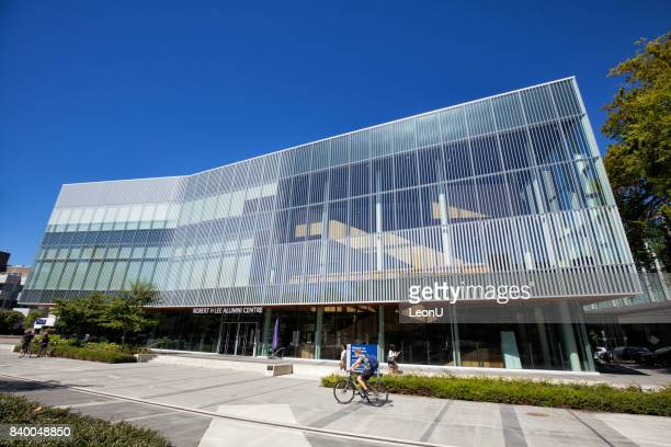 robert h lee alumni centre in ubc, vancouver, canada - ubc stock pictures, royalty-free photos & images
