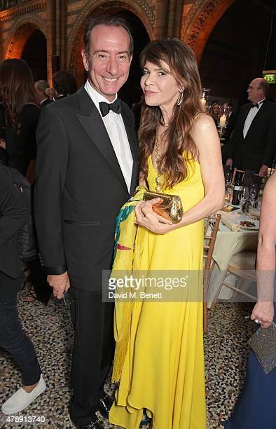Robert Hanson and guest attend the 2015 FIA Formula E Visa London ePrix Gala Dinner at the Natural History Museum on June 28 2015 in London England