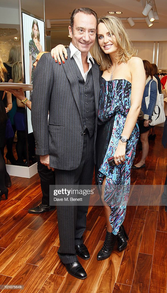 Robert Hanson and Masha Markova attend the store opening of BCBGMAXAZRIA on May 27, 2010 in London, England.