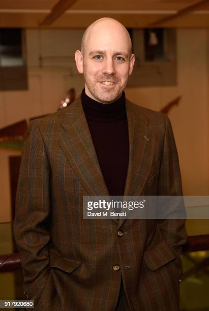 Robert Hastie attends the press night after party for 'The York Realist' at The Hospital Club on February 13 2018 in London England