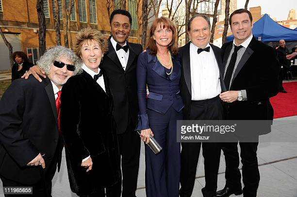 Robert Hegyes Ellen Travolta Lawrence HiltonJacobs Marcia Strassman Gabe Kaplan and John Travolta attends the 9th Annual TV Land Awards at the Javits...