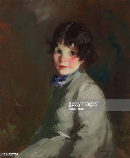 Robert Henri, , American, 1865 - 1929, Catharine oil on canvas, overall: 61 x 51 cm , framed: 85.1 x 74.9 x 6.4 cm , Given in memory of Mr. And Mrs....