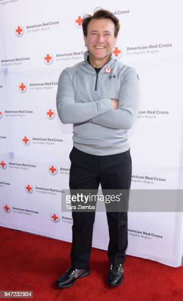 Robert Herjavec attends the Red Cross' 5th Annual Celebrity Golf Tournament at Lakeside Golf Club on April 16, 2018 in Burbank, California.