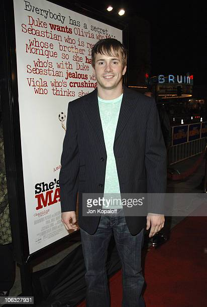 """Robert Hoffman during DreamWorks' """"She's the Man"""" Los Angeles Premiere - Red Carpet at Mann's Village in Westwood, California, United States."""