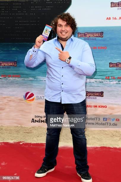 Robert Hofmann attends the 'Hotel Transsilvanien 3' premiere at CineStar on July 8 2018 in Berlin Germany