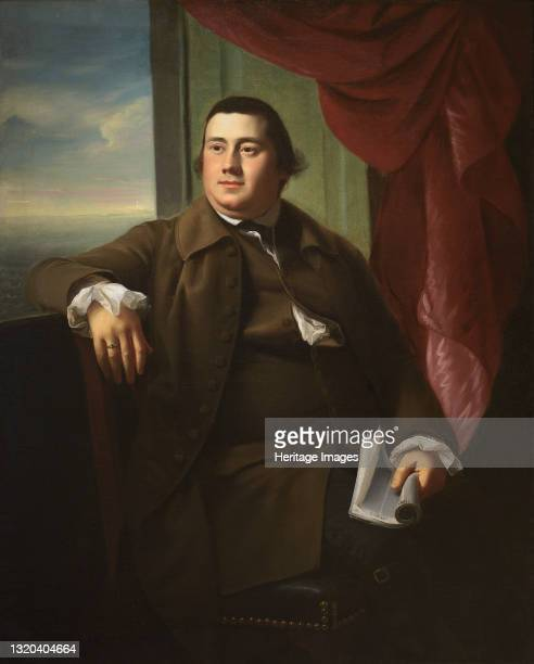 Robert Hooper, circa 1770-1772. Artist John Singleton Copley.