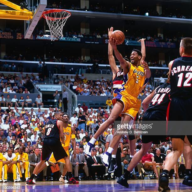 Blazers Vs Lakers: Robert Horry Stock Photos And Pictures