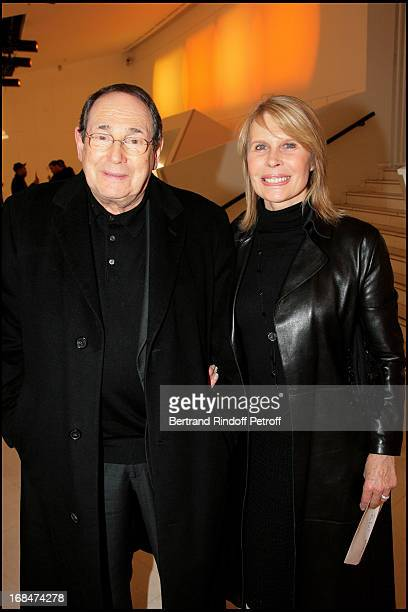 Robert Hossein and Candice Patou at Michel Leeb's 30 Year Career Celebration At Palais Des Congres In Paris