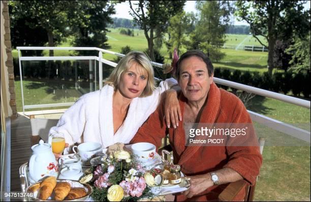 Robert Hossein and Candice Patou Vittel 1994