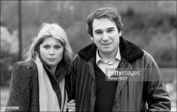 Robert Hossein with Candice Patou 1979