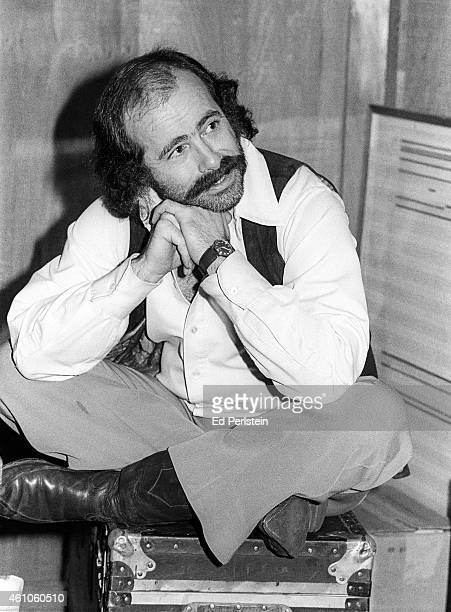 Robert Hunter poses at the Grateful Dead's rehearsal studio Club Front in November 1977 in San Rafael California