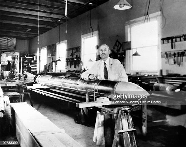 Robert Hutchings Goddard American physicist and inventor c1930s Robert Hutchings Goddard came to be known as the father of modern scientific rocket...