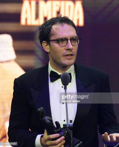 Robert Icke winner of the Milton Shulman Award for Best Director for 'The Doctor' attends the 65th Evening Standard Theatre Awards in association...