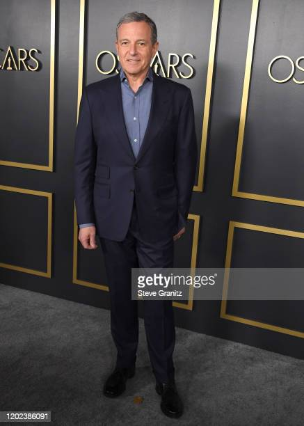 Robert Iger arrives at the 92nd Oscars Nominees Luncheon on January 27 2020 in Hollywood California