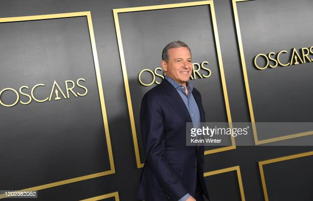 Robert Iger attends the 92nd Oscars Nominees Luncheon on January 27 2020 in Hollywood California