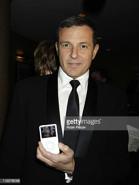 Robert Iger CEO of The Walt Disney Corporation during Robert Iger Honored by The National Academy at The New York Marriott Marquis Hotel in New York...