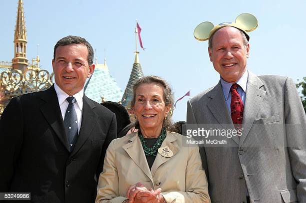 Robert Iger CEOelect and president of The Walt Disney Company Diane Disney Miller daughter of Walt Disney and Michael Eisner Chief executive officer...