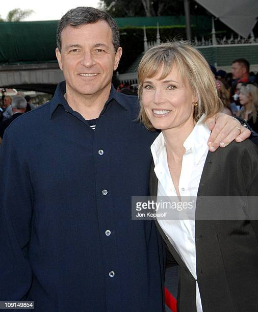 Robert Iger President and CEO of the Walt Disney Company and wife Willow Bay